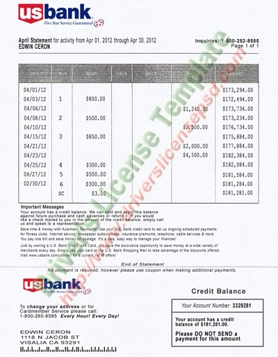 Can i print bank statements from my bank for my visa interview or get an affidavit from your sponsor also get his ssn for verification most us bank statements look like this very similar to our private banks thecheapjerseys Choice Image