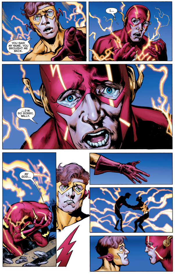 Why do people love barry allen more than wally west myself being a wally west fans were given love with the new rebirth and return of wally west a bit younger than i hoped but better than nothing altavistaventures Choice Image