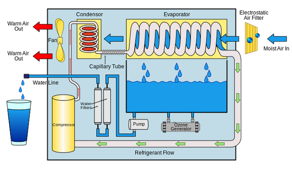 What Is The Mechanism That Produces Water From Polluted