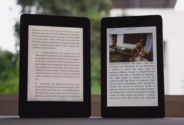 Can we read colored books on a Kindle? - Quora