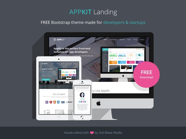 Where can I get a free Bootstrap template? - Quora