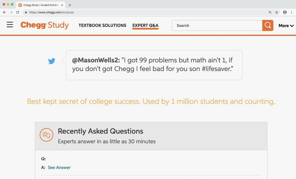 Can I give a link to answers in Chegg instead of actually answering