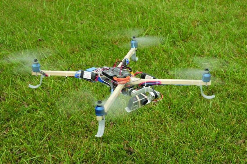 What do I need to know to build my own quadcopter, from project to