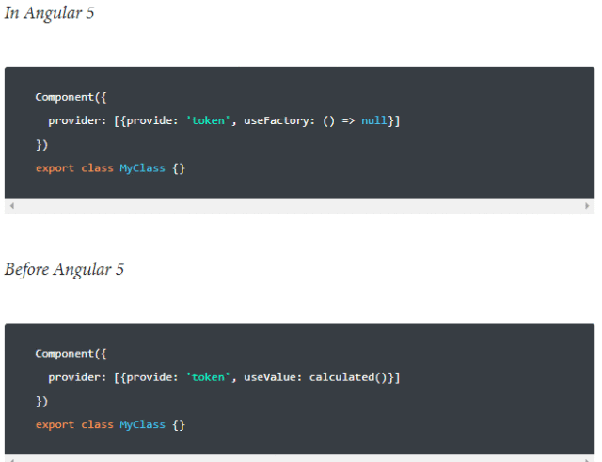 What's new in Angular 5? - Quora