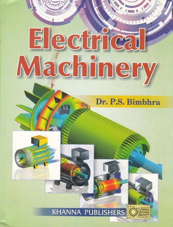 Where can we find the electrical machinery book PDF of P  S
