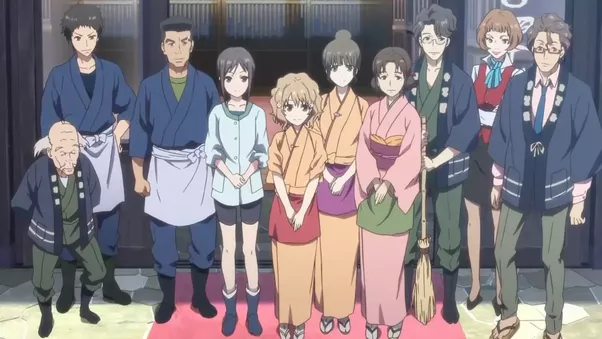 Our Heroine Ohana Suddenly Learns That She Will Have To Move And Live With Her Strict Distant Grandmother Who Runs A Traditional Japanese Inn