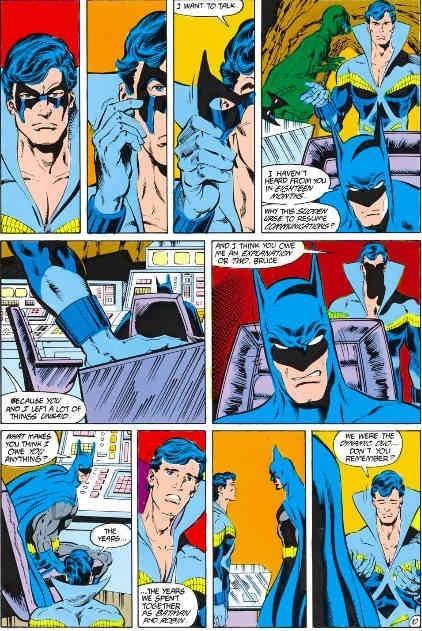 Dick grayson becomes batman