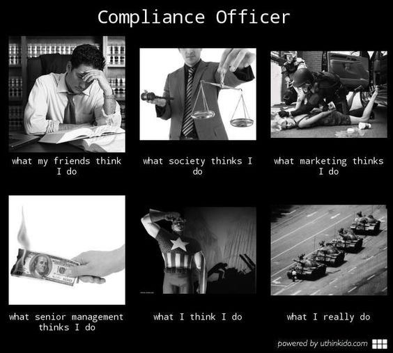 What is it like working as a compliance officer quora - Qualifications for compliance officer ...
