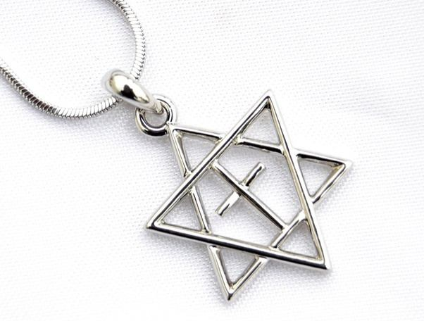 What does the star of david and the cross mean quora it resembles a jewish symbol star of david and christian symbol the cross to relay there half and half believes between christianity and jewdism aloadofball