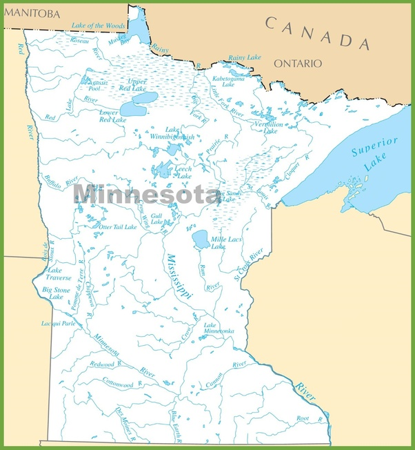 How many lakes does minnesota have