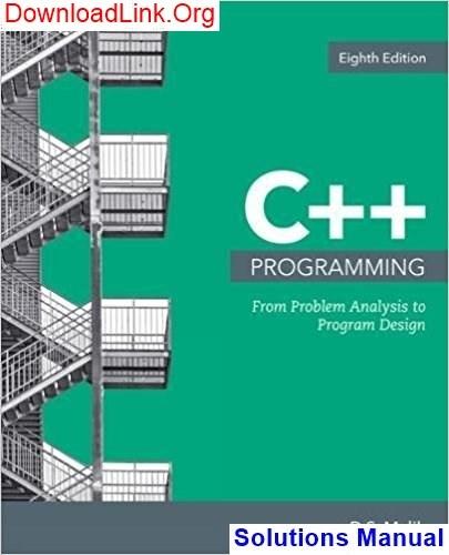 problem solving and program design in c pdf