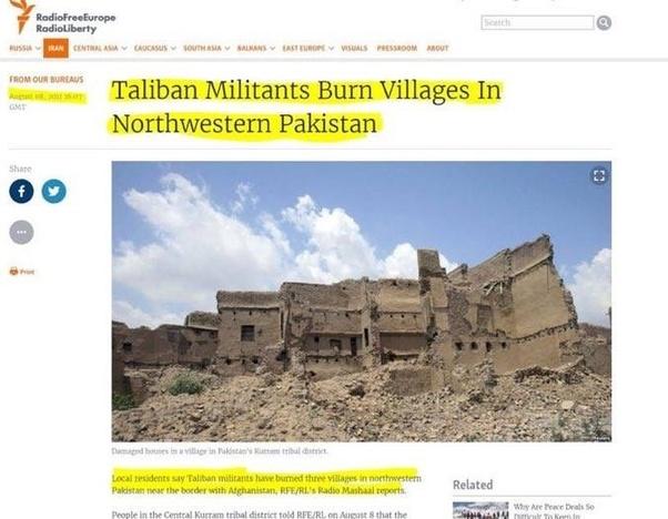 Why do Pakistani nationalists think that the Pashtun Tahafuz