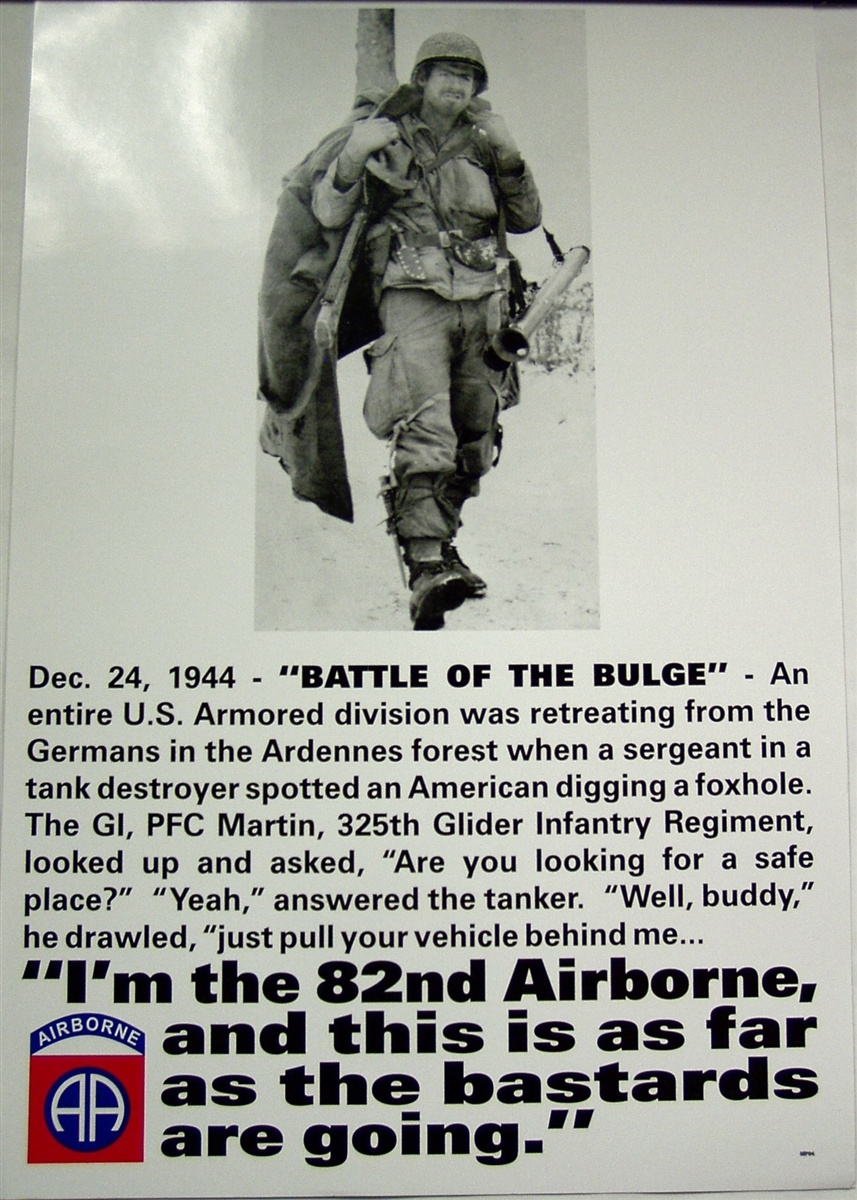 The 82nd Airborne is associated with Rangers and Delta often