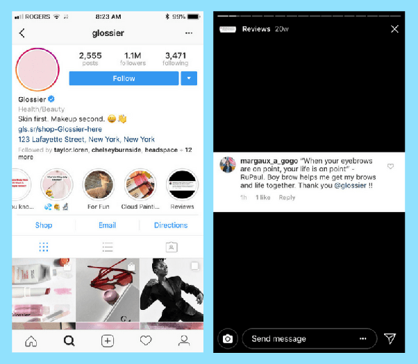 how to repost instagram on story