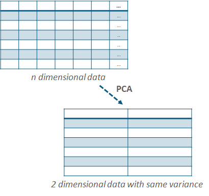 What is the difference between LDA and PCA for dimension