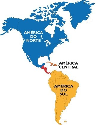 Map Of America North South And Central.What Is The Difference Between Latin America South North And East