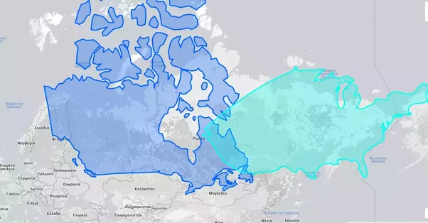 Is north america bigger than russia quora i only projected canada and usa here which already cover russia if you consider that north america includes all countries north of colombia yes gumiabroncs Image collections