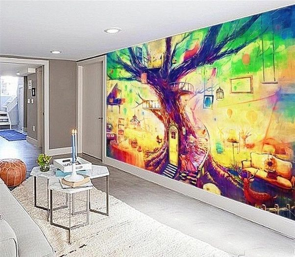Is it a good idea to get an indoor wall painted with a mural a