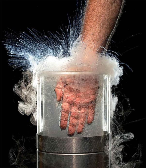 Is it safe to put my hand in liquid nitrogen? - Quora