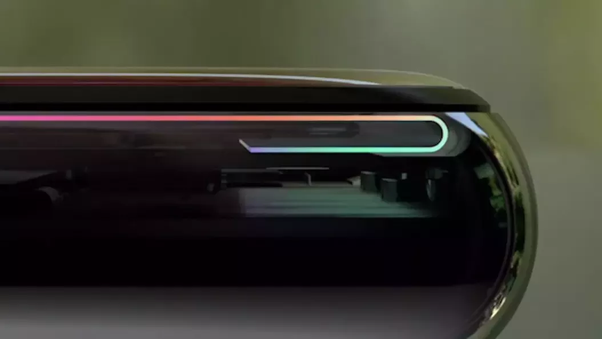 huge selection of 9b4e2 a193f Why is OLED display in iPhone X folded at the bottom? - Quora