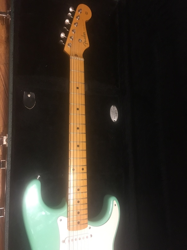 Will a maple neck on a modern Fender Stratocaster eventually