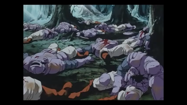 What is the most one sided battle scene in an anime series ...