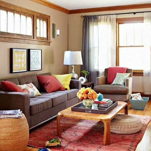 What Color Go With Brown Sofa Quora, What Colour Cushions Goes With Brown Sofa