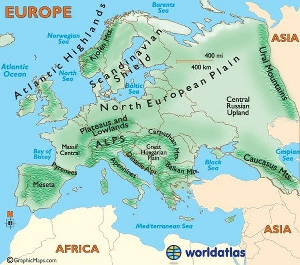 east of urals fall in asia so siberia a part of russia is considered asia moscow is west of urals so are turkey and parts of caspian sea countries