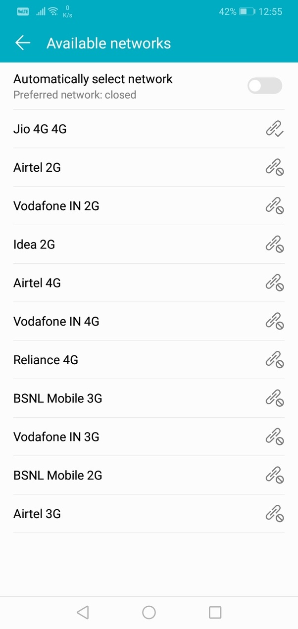 How has been your experience with BSNL, Airtel, Vodafone