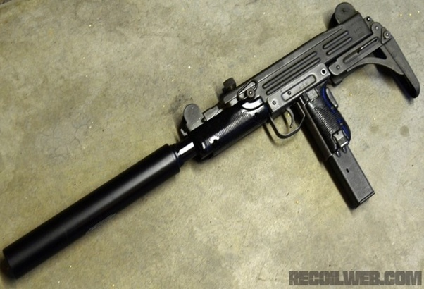 Between a suppressed Uzi and a suppressed MP5 which would