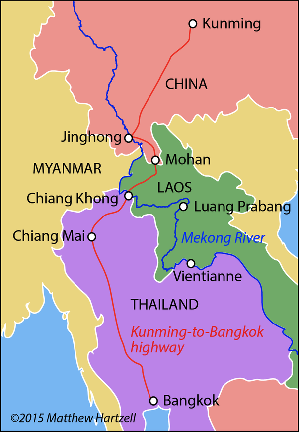 Kunming Metro Map.How To Travel From Kunming China To Thailand Overland Quora