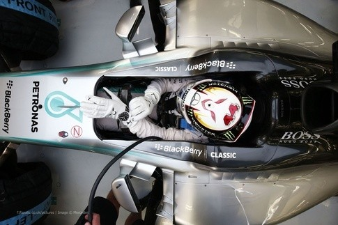 This Is The Driveru0027s Seating Position In F1 Car.