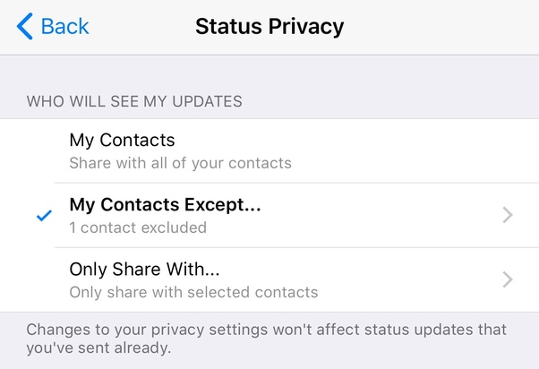 Why Is My Whatsapp Status Not Visible To Others Quora