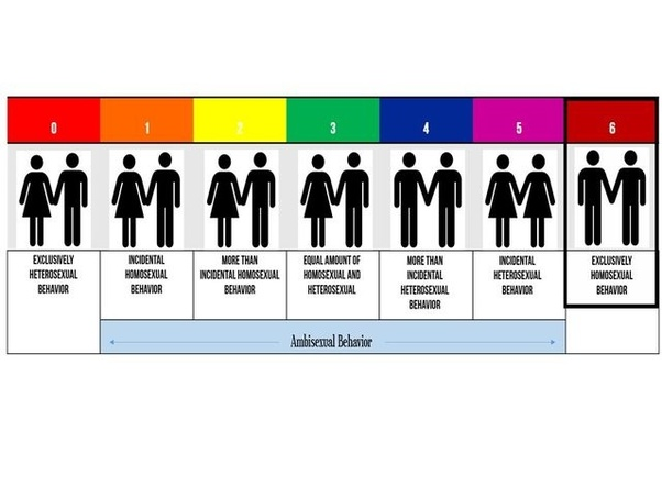 Kinsey scale of sexual orientation test