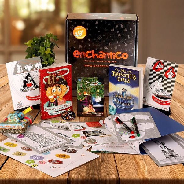 What are all the subscription boxes available for kids under
