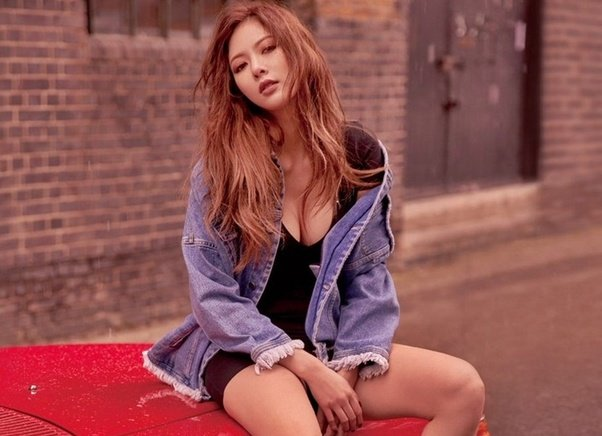 Breasted korean singer girl nude
