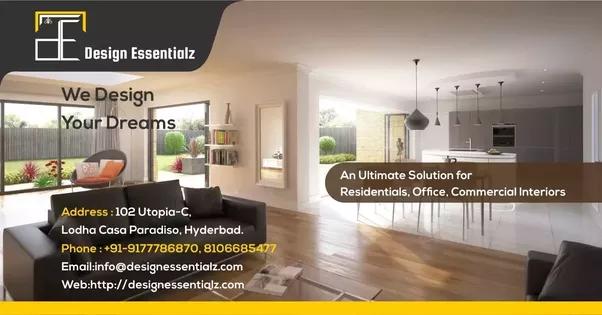 Etonnant Design Essentialz Is A Complete Interior Design Service Company In  Hyderabad Providing Design Services By Specialized Interior Designers In  Hyderabad.