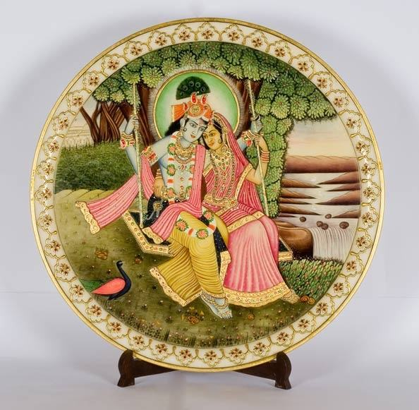 Decorated plates  Decorate your room with decorated plates is an inexpensive way to create a huge statement in a room. & How to decorate the walls of your room - Quora