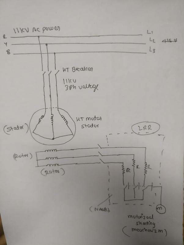 how is the circuit diagram of liquid resistance starter. Black Bedroom Furniture Sets. Home Design Ideas