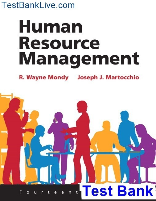 Where can I find a test bank for Human Resource Management