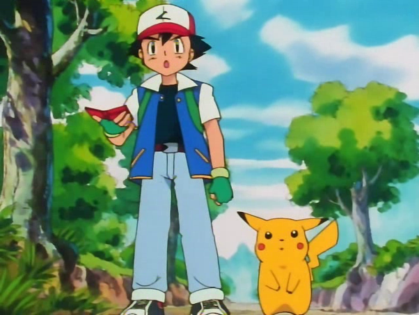 What is the main plot of each season in the Pokemon anime