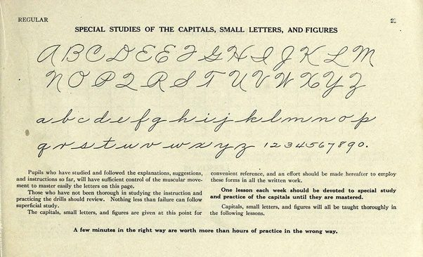How to write a cursive capital q quora image source a n plamer the palmer method of business writing a series of self teaching in rapid plain unshaded coarse pen muscular movement spiritdancerdesigns Choice Image