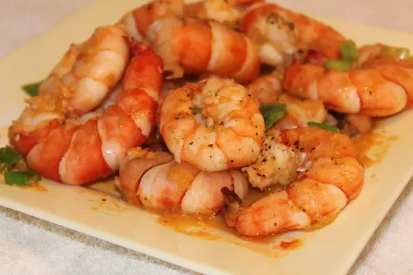 adults three of shrimp Quantity for