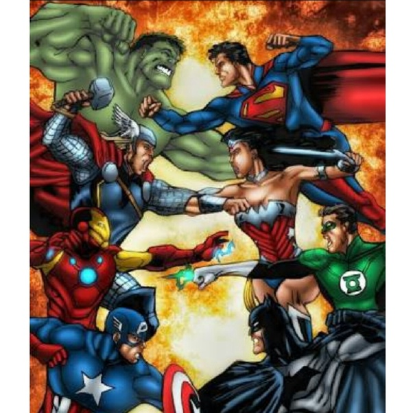 Which team will win in the fight, Iron Man, Captain, Thor ...