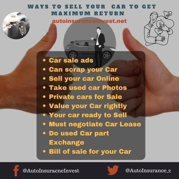 what are some tips on buying and selling cars quora