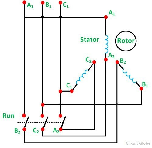 wye 3 phase transformer wiring diagram what is the proper star delta motor connection quora