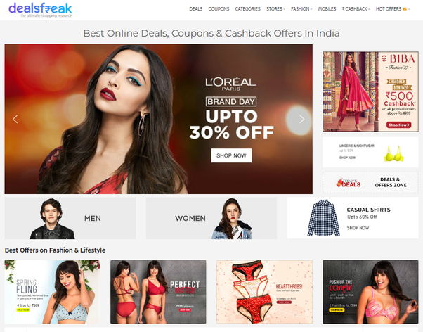 Who Is The Best Shopping Coupon Website In India Quora