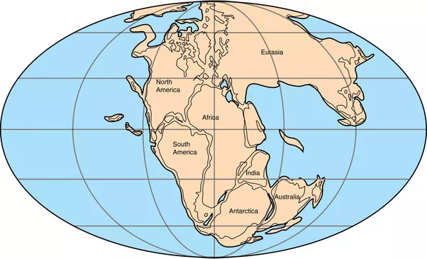What if south america and africa never separated quora about 200 million years ago under the influence of volcanic activity and plate tectonics pangaea began to slowly break up into the continents we recognise gumiabroncs Choice Image