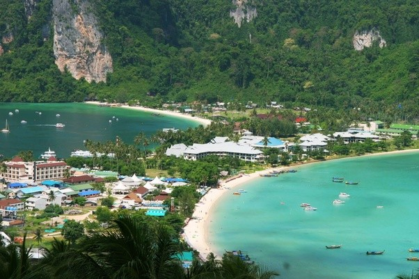Is Phi Phi island Phuket better than Coral Island PattayaThailand