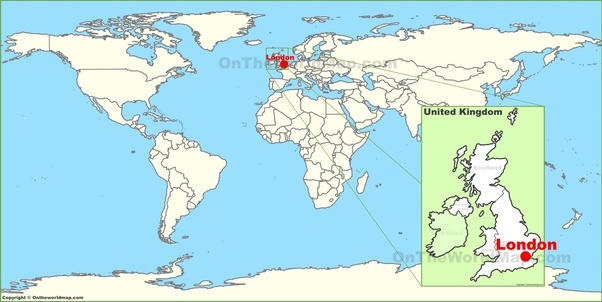 United Kingdom World Map Where is the UK on the world map?   Quora